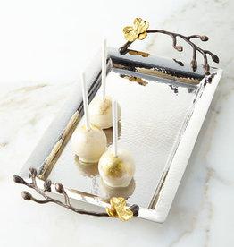Michael Aram Golden Orchid Mini Steel Tray