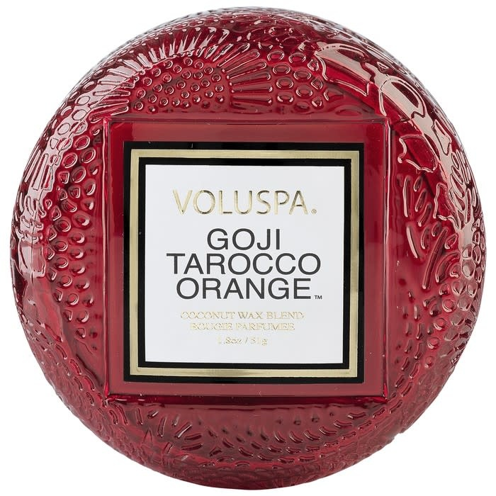 Voluspa Goji & Tarocco Orange Macaron Candle
