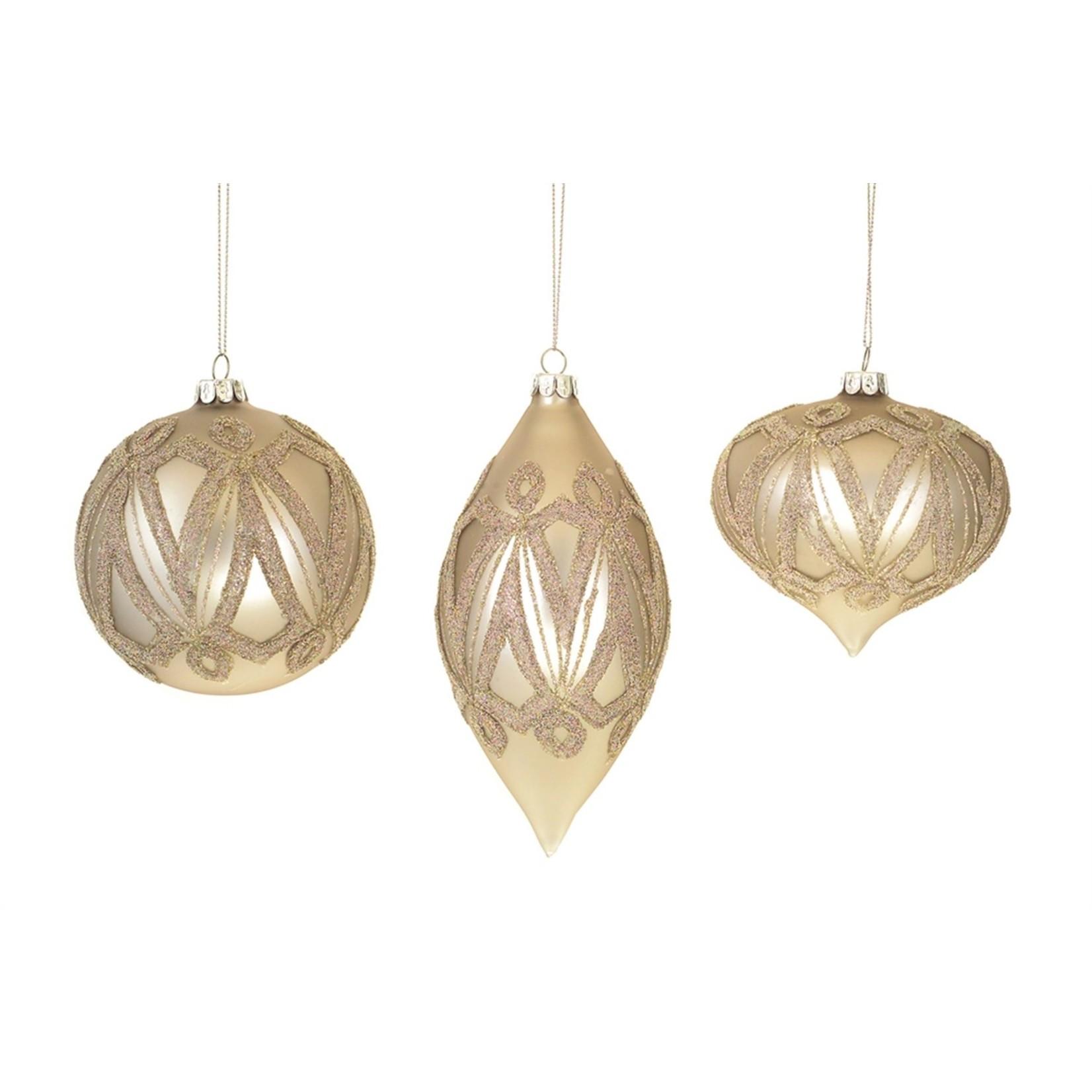 Beaded Pattern Ornament