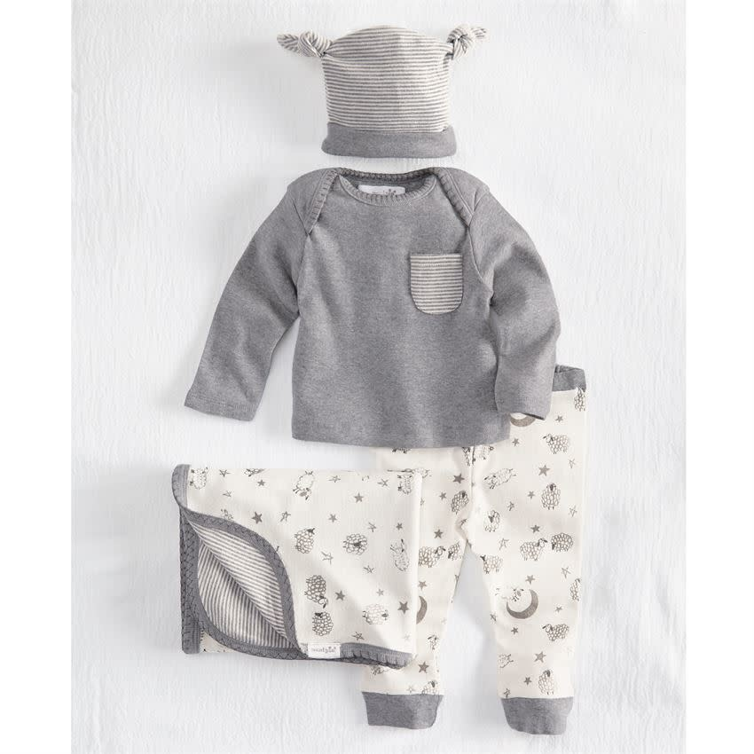 MudPie Counting Sheep 4 Piece Gift Set