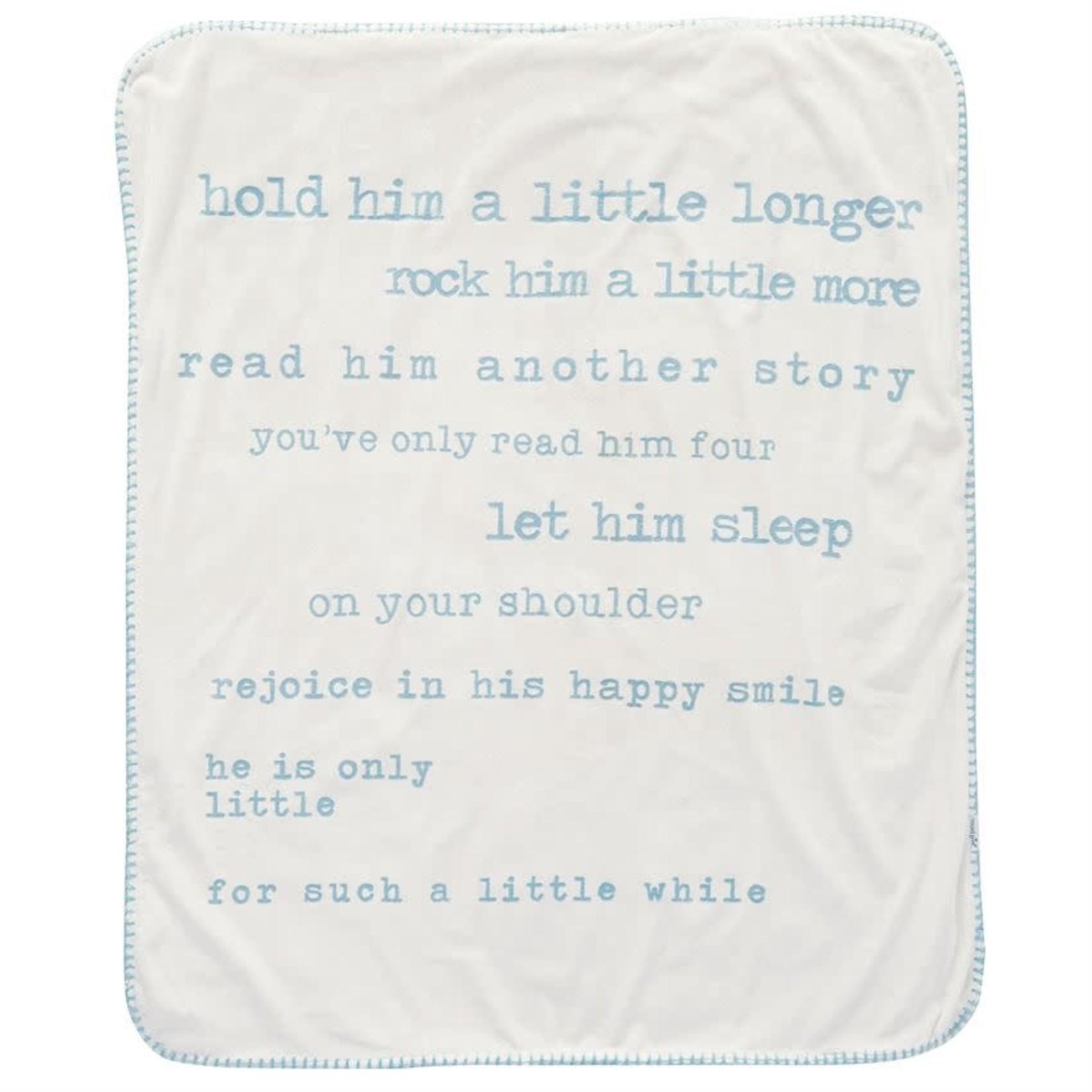 MudPie Little Boy Sherpa Blankets