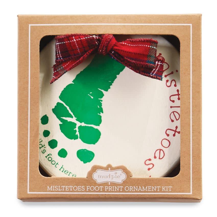 MudPie Mistletoe Ornament Kit
