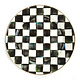 MacKenzie Childs Courtly Check Enamel Charger/Plate