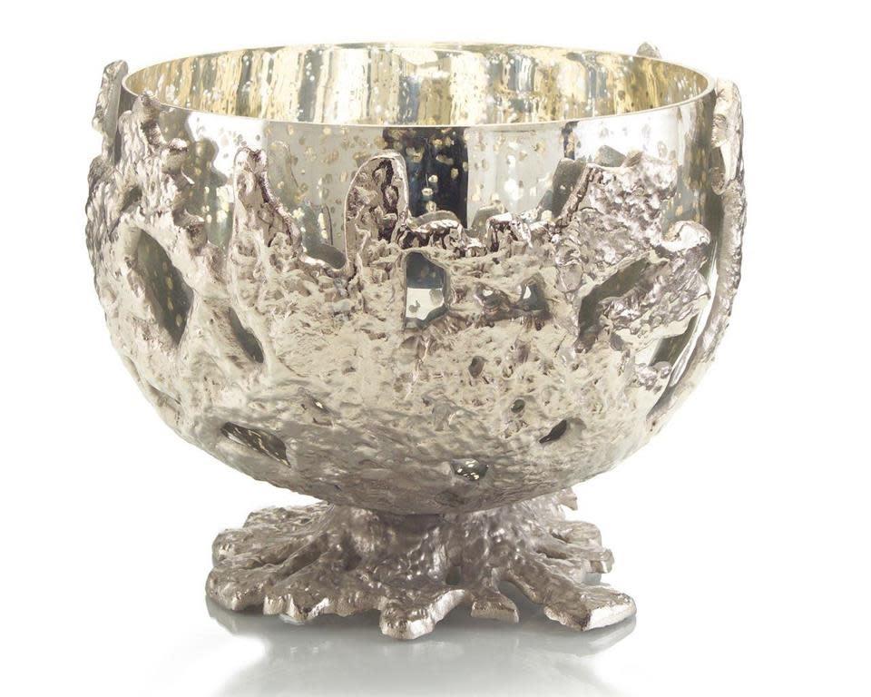 John Richard Nickel Casting Encases Gold Bowl