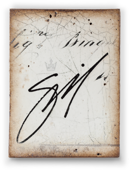 Sid Dickens Artist's Signature