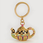 MacKenzie Childs Tea Pot Key Ring