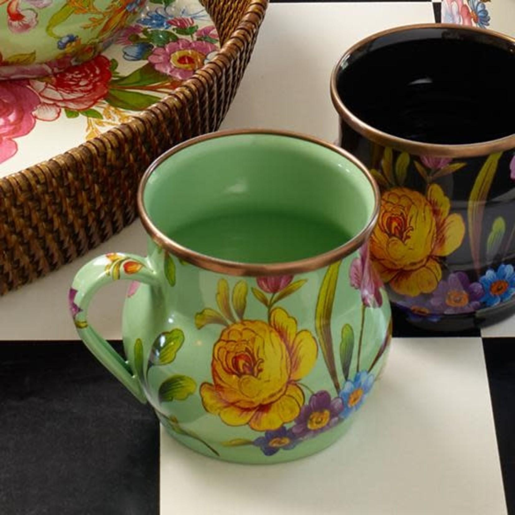 MacKenzie Childs Flower Market Mug - Green