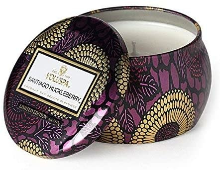 Voluspa Santiago Huckleberry Petitie Decorative Candle