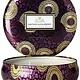 Voluspa Santiago Huckleberry 3 wick candle in decorative tin