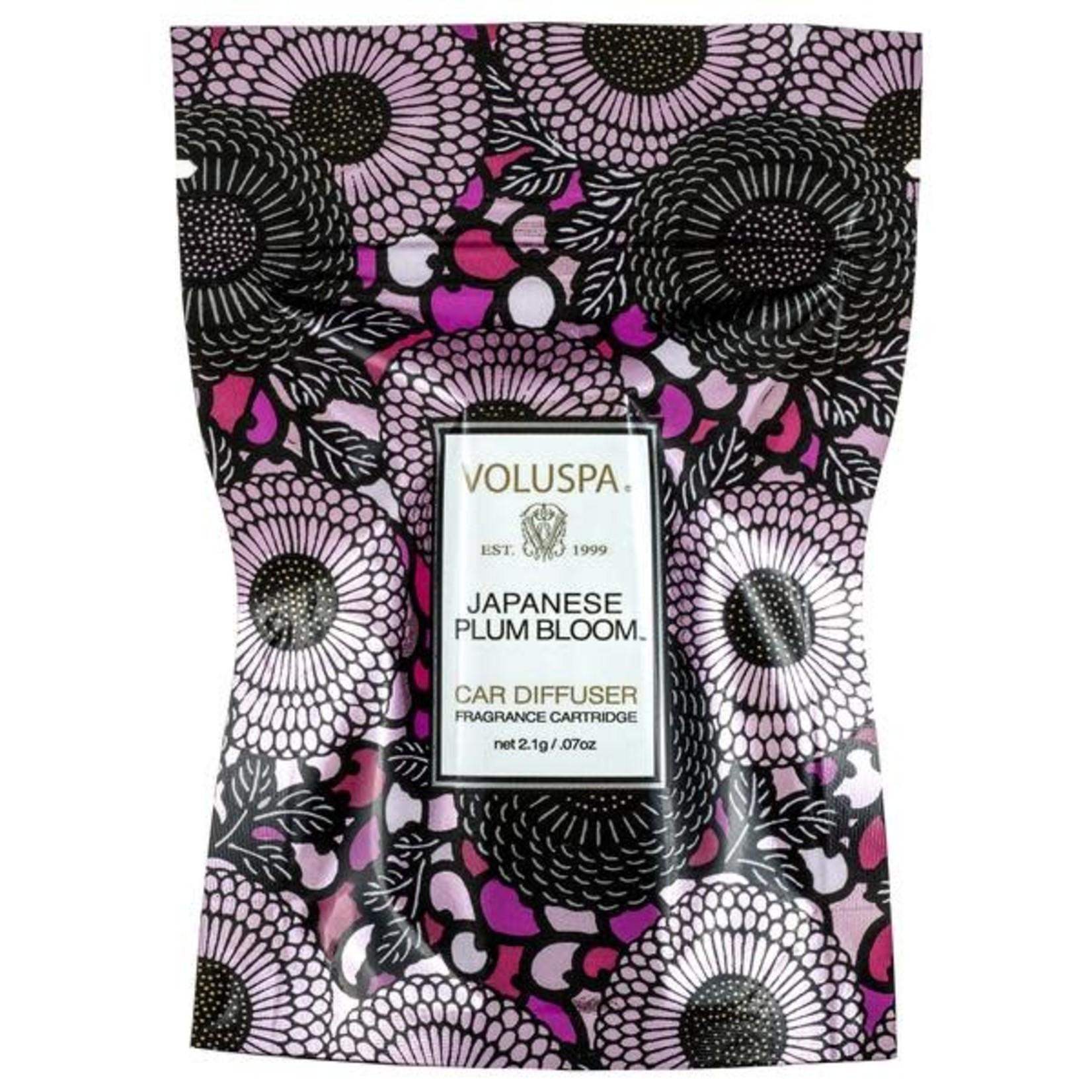 Voluspa Japanese Plum Bloom Fragrance Cartridge Refill pouch