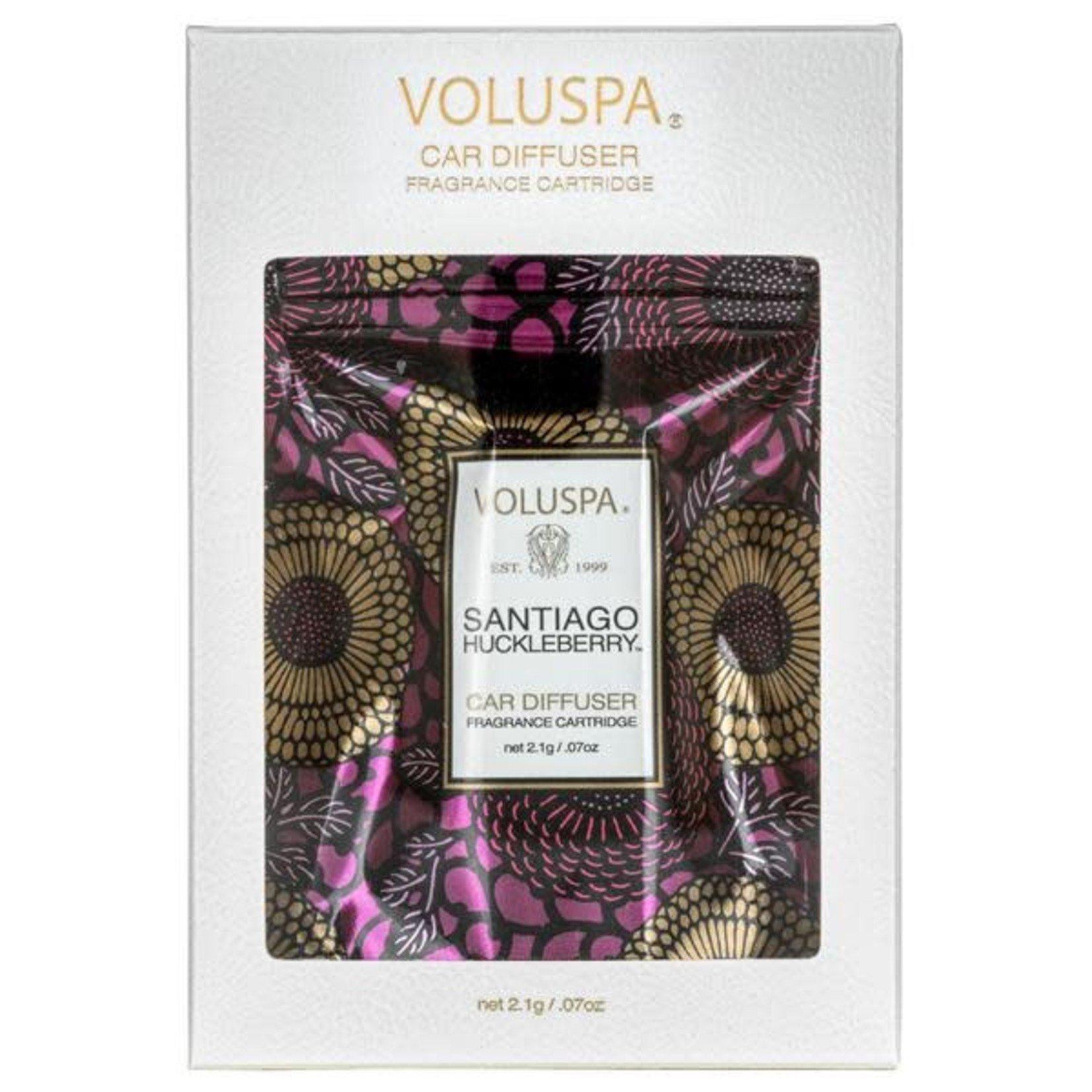 Voluspa Santiago Huckleberry Fragrance Cartridge Refill pouch
