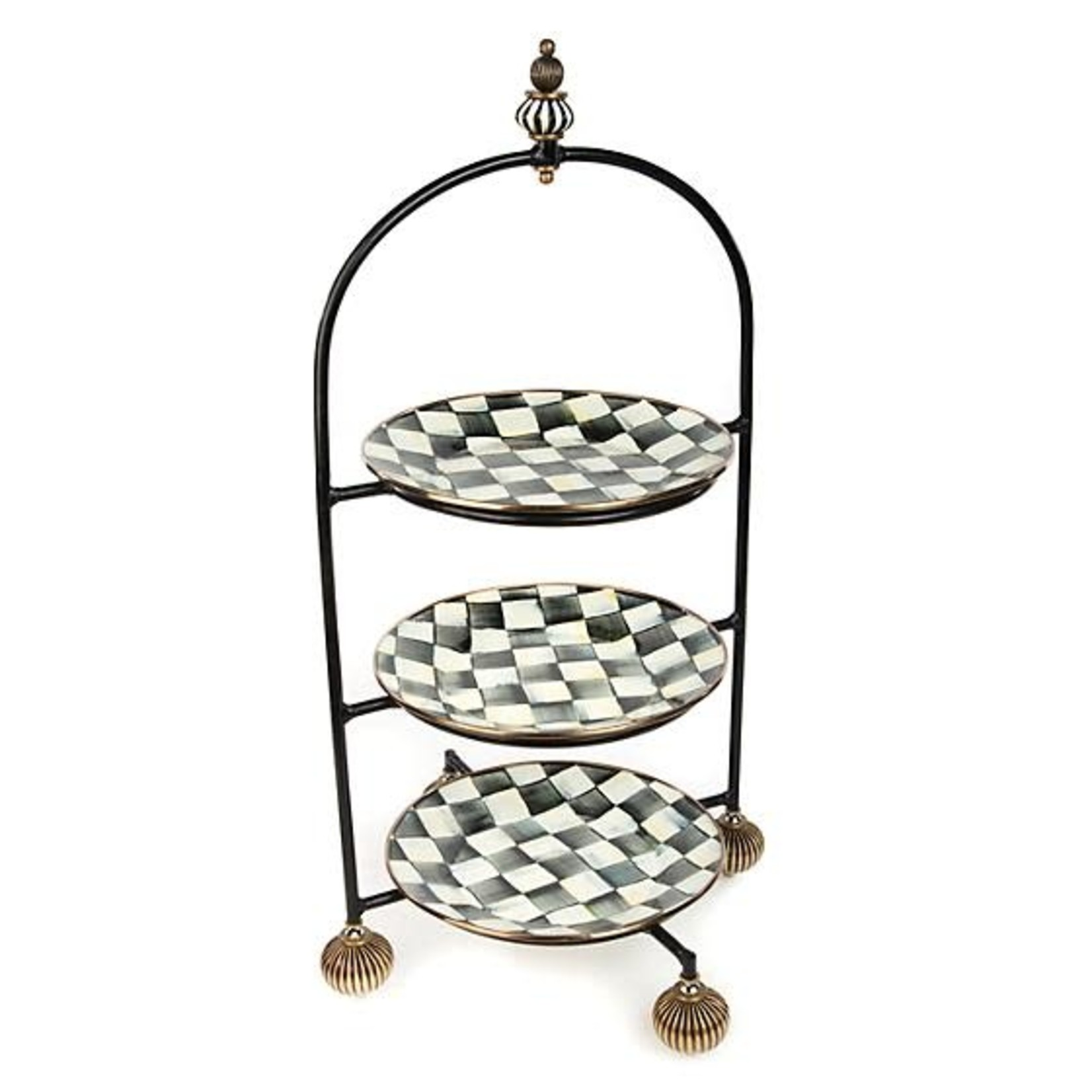 MacKenzie Childs Plate Stand - Large