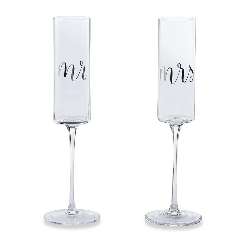 MudPie Wedding Champagne Set