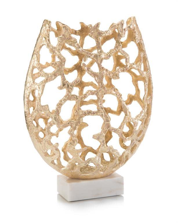 John Richard Primordial Vase in Gold