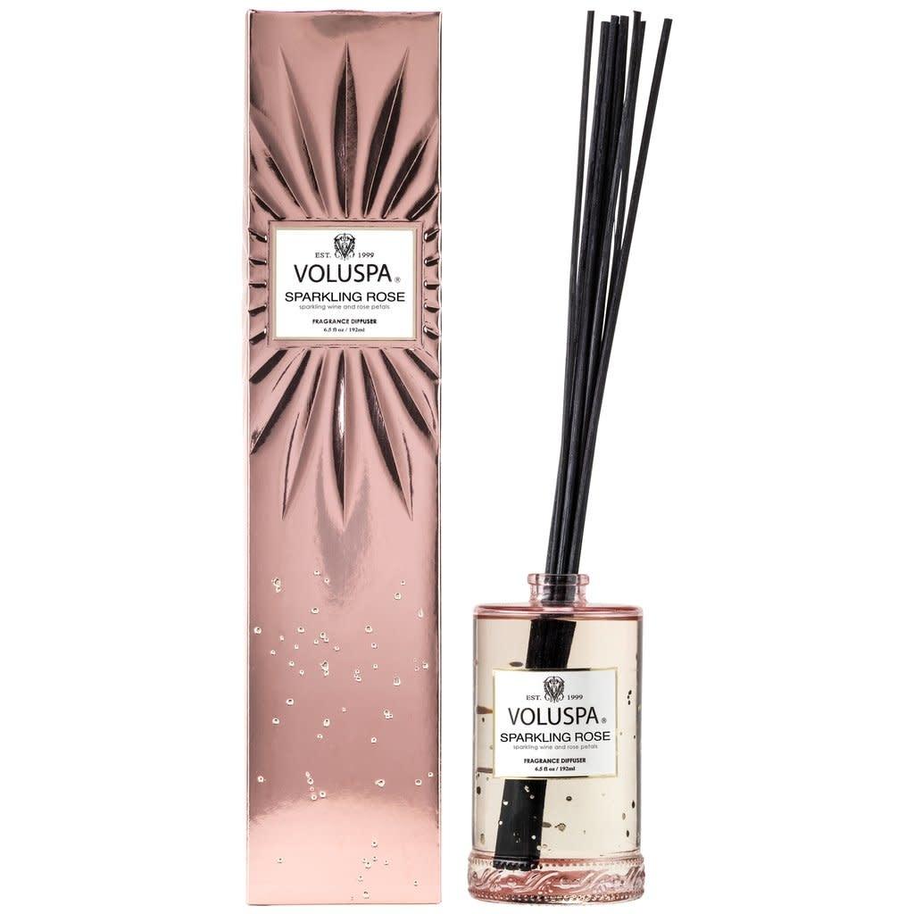Voluspa Sparkling Rose Fragrance Reed Diffuser