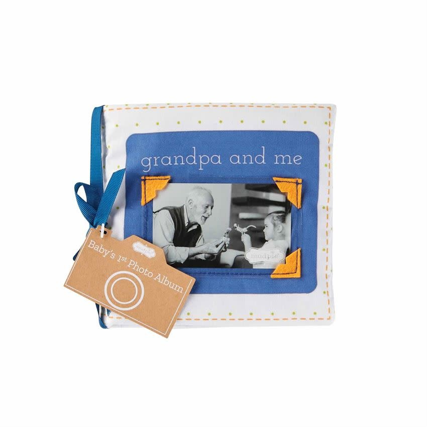 MudPie Grandpa & Me Fabric Book