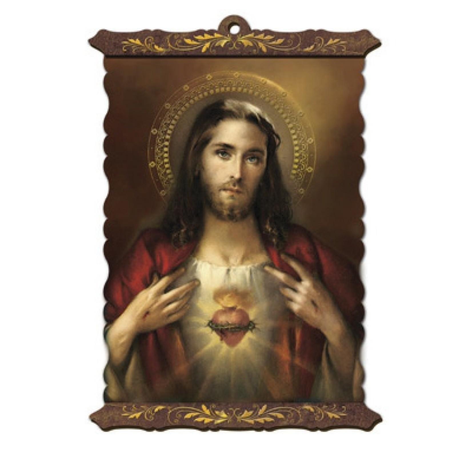 Scroll Sacred Heart of Jesus