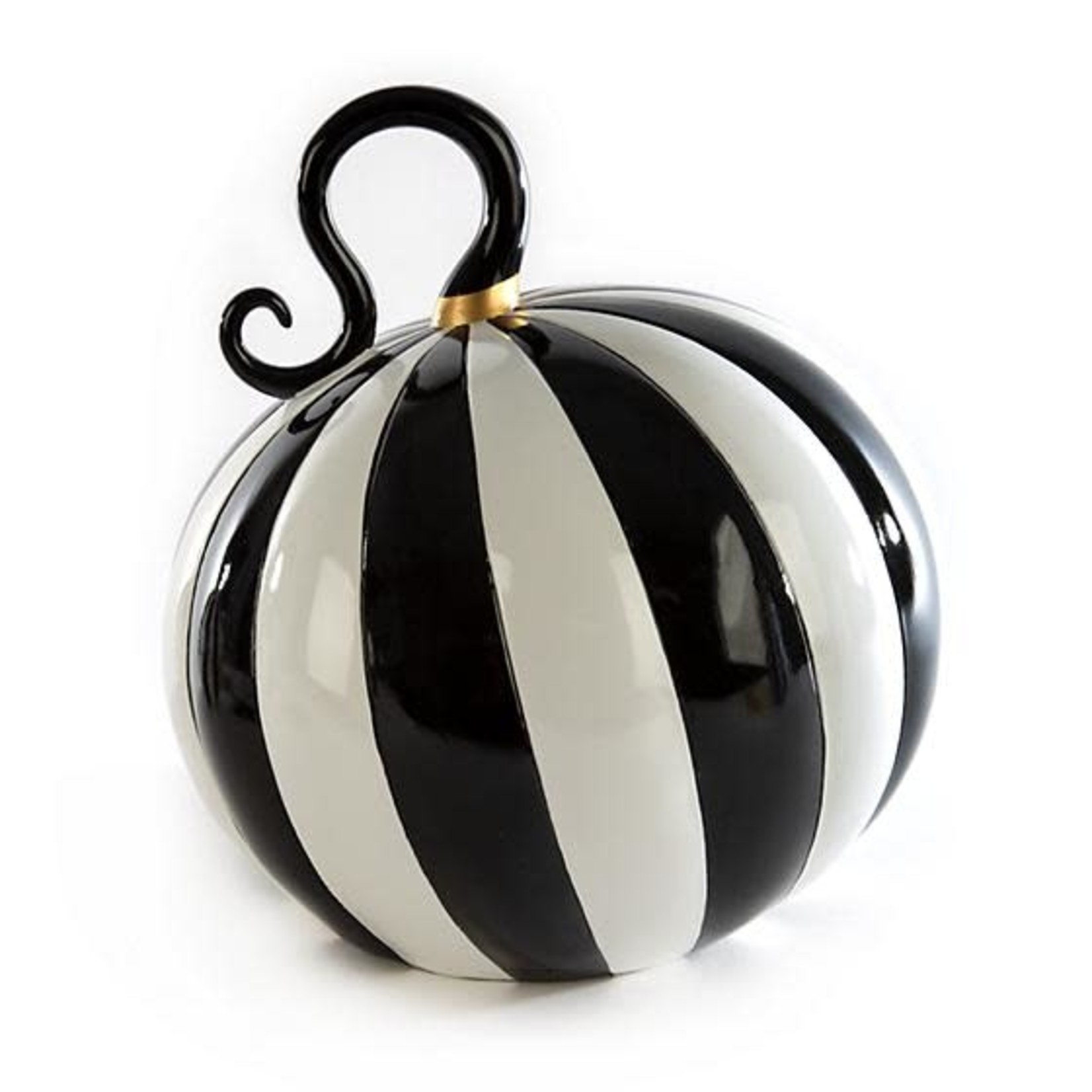 MacKenzie Childs Mod Pumpkin - Large