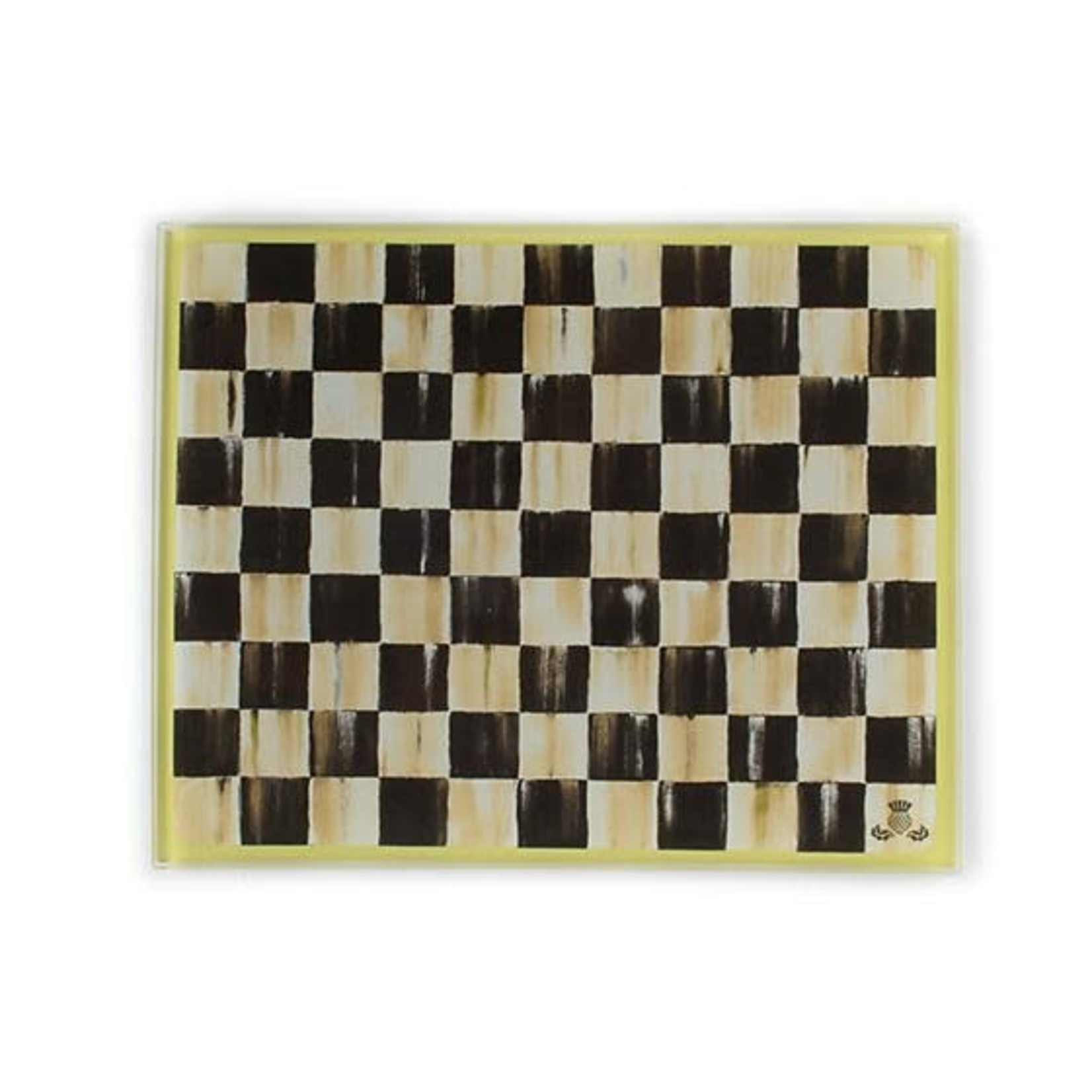 MacKenzie Childs Courtly Check Cutting Board - Small