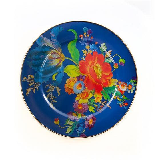 MacKenzie Childs Flower Market Serving Platter - Lapis