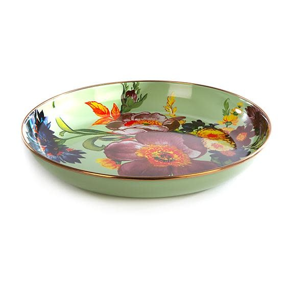 MacKenzie Childs Flower Market Abundant Bowl - Green