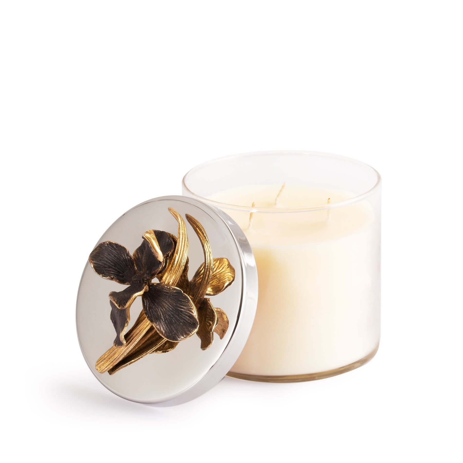 Michael Aram Black Iris Candle