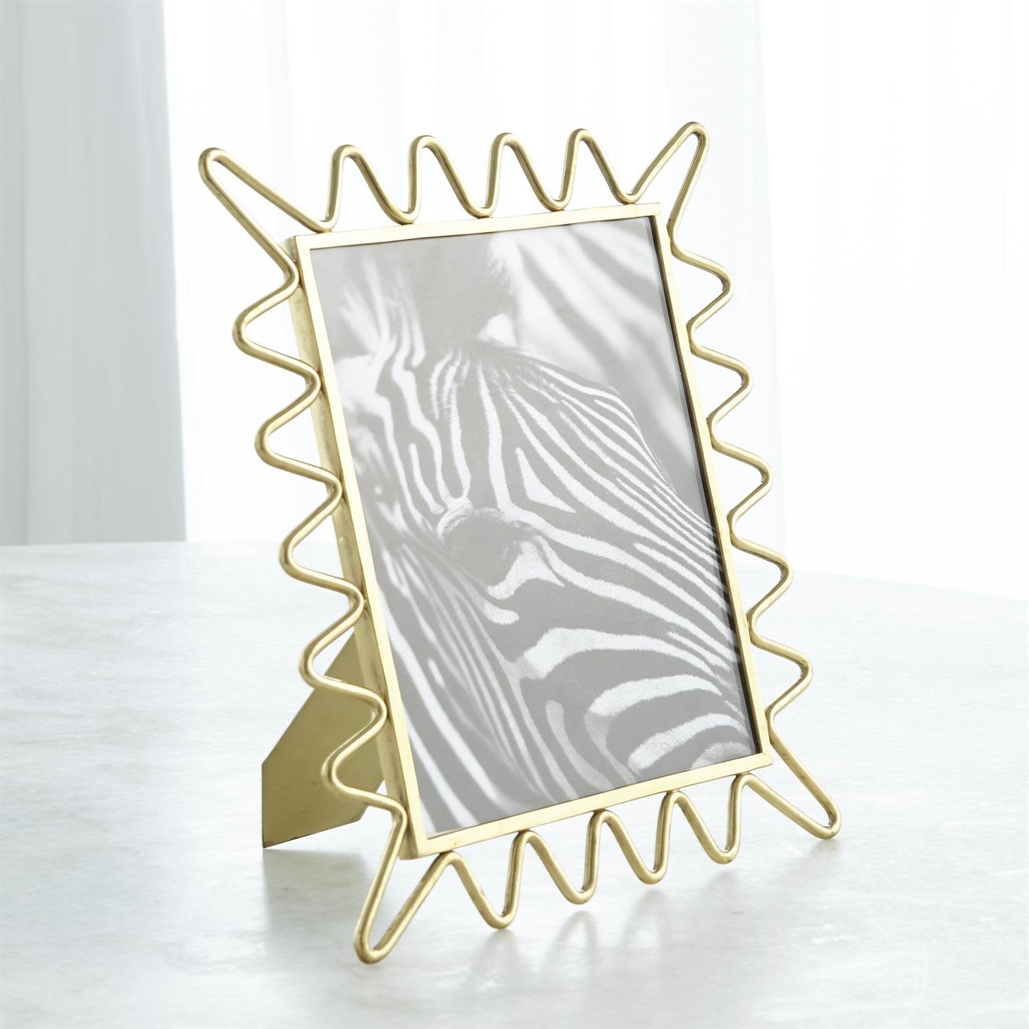 Ric Rac Picture Frame - Gold