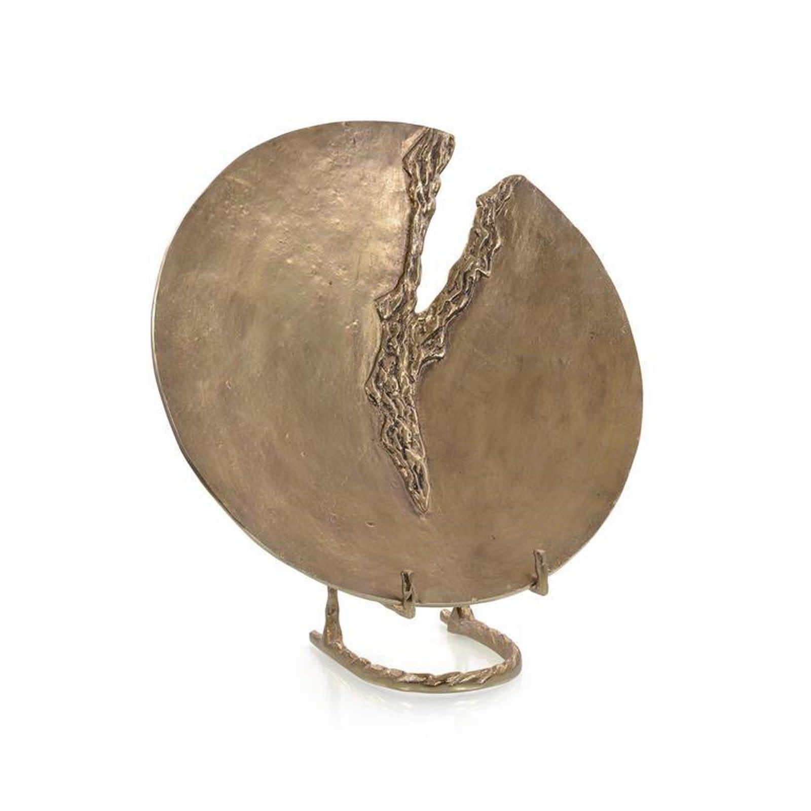 John Richard Hammered Brass Charger I
