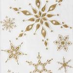 Snowflake Embossed paper Cocktail Napkin
