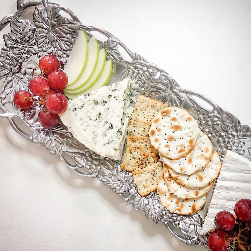 Arthur Court Grape Oblong Tray