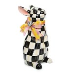 MacKenzie Childs Courtly Check Standing Bunny