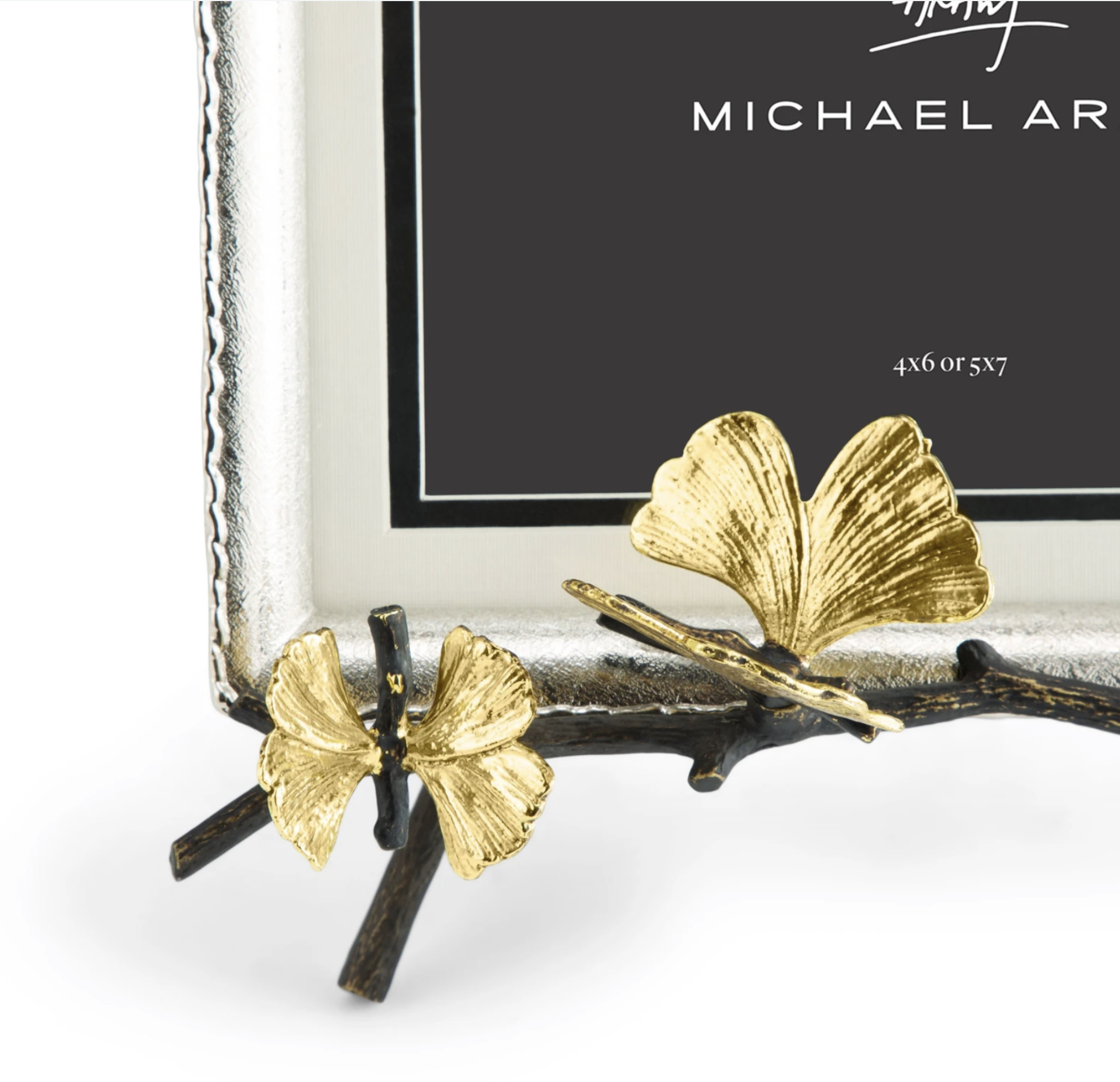 Michael Aram Butterfly Ginkgo Easel Frame