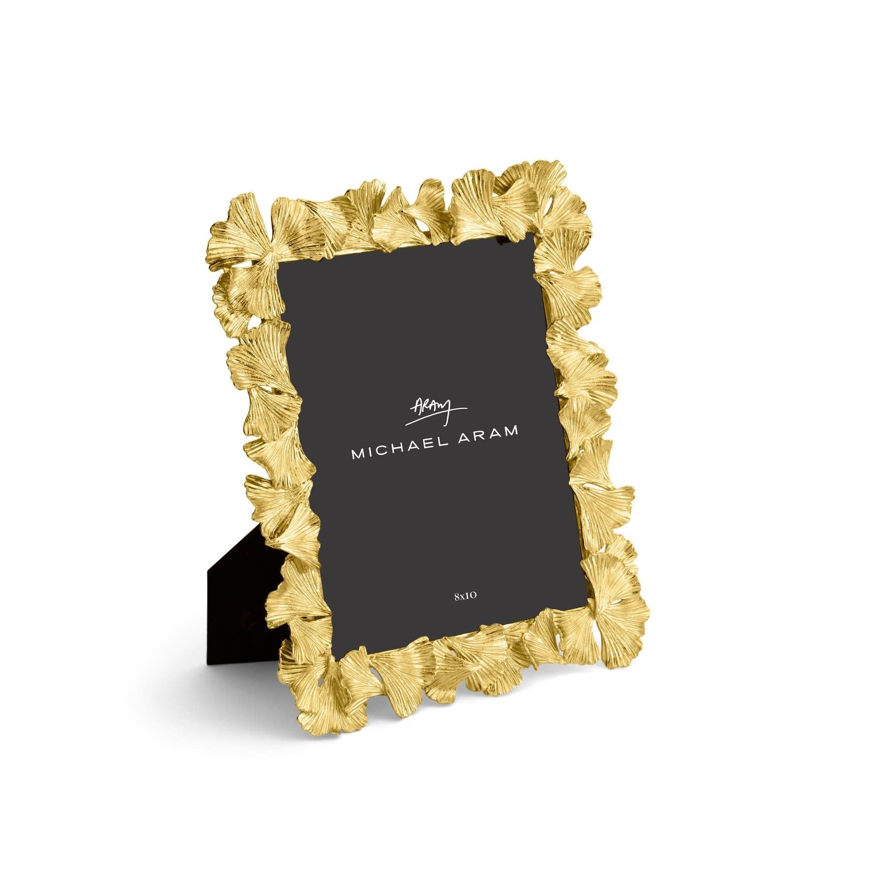 Michael Aram Golden Ginkgo Frame 8x10