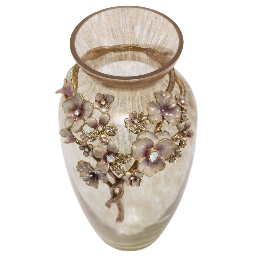 Jay Strongwater Polly Bouquet Vase