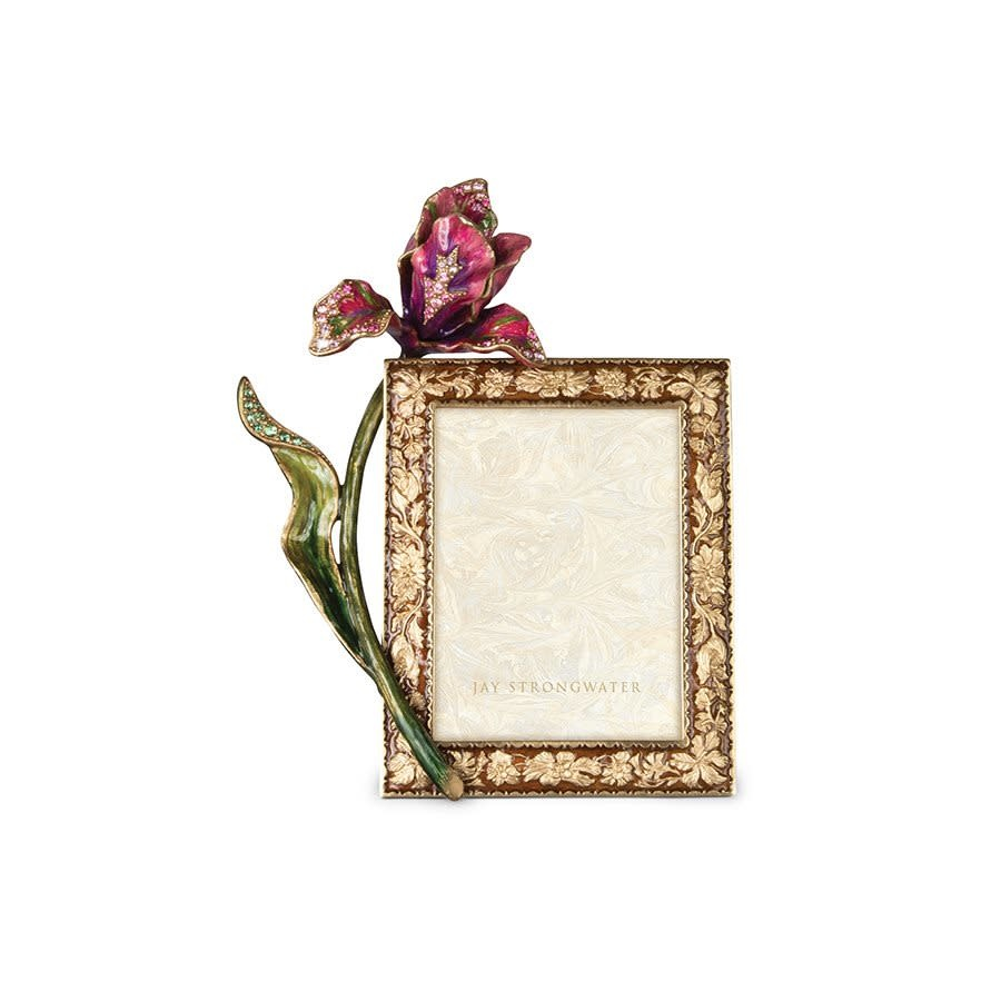 "Jay Strongwater Ilsa Tulip 3"" x 4"" Frame"