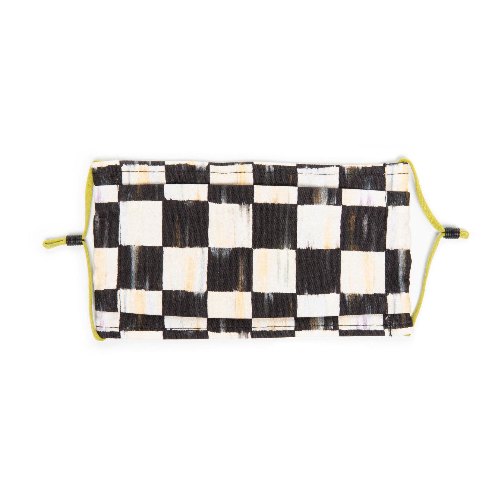 MacKenzie Childs Courtly Check Face Mask - Pleated