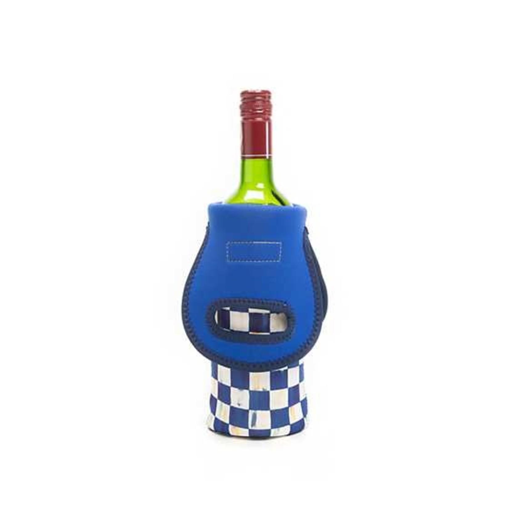 MacKenzie Childs Royal Check Wine Tote