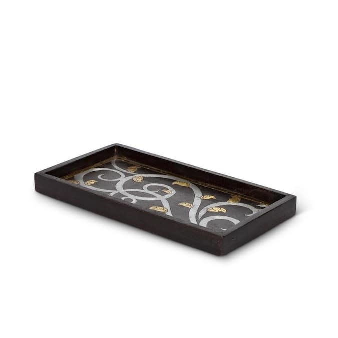 The GG Collection GL Small Rectangle Wood Tray