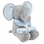 MudPie Blue Elephant Gift Set