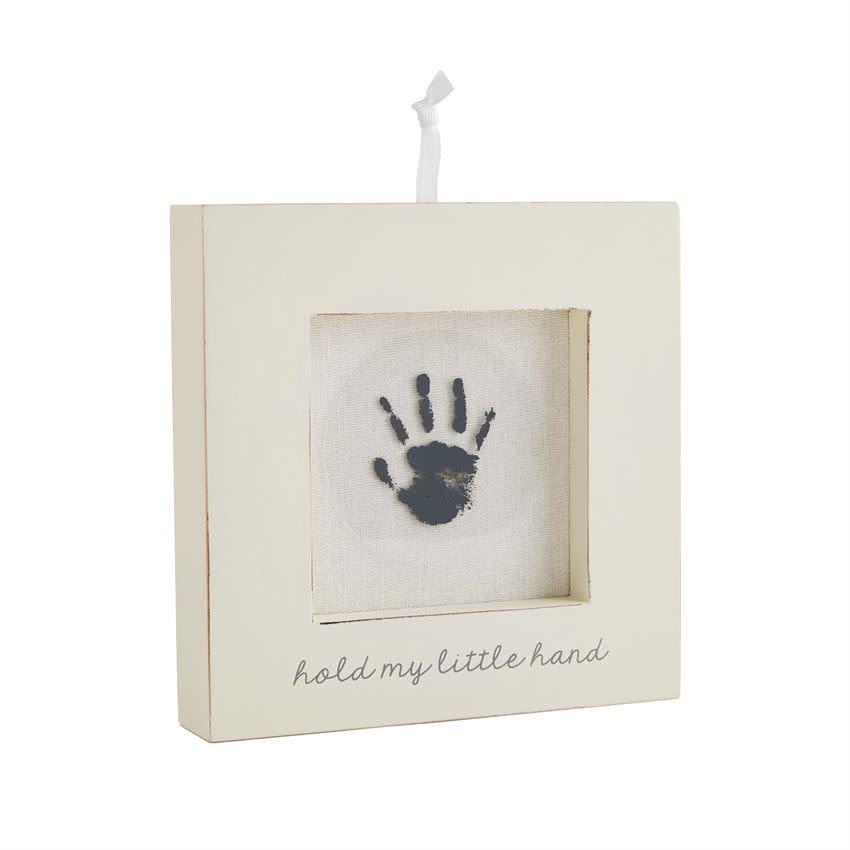 MudPie WHITE HAND AND FOOT PRINT