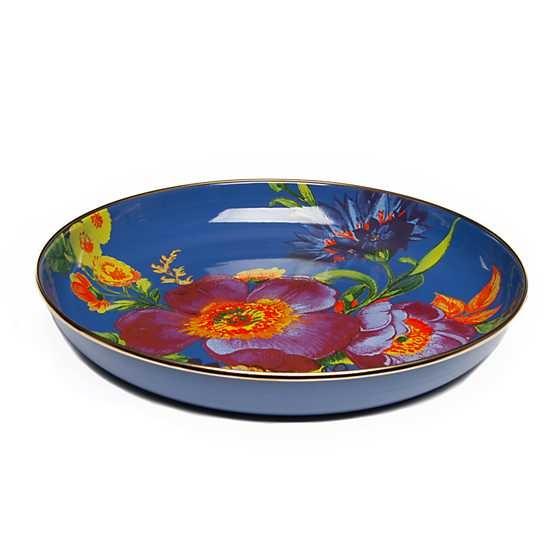 MacKenzie Childs Flower Market Abundant Bowl - Lapis
