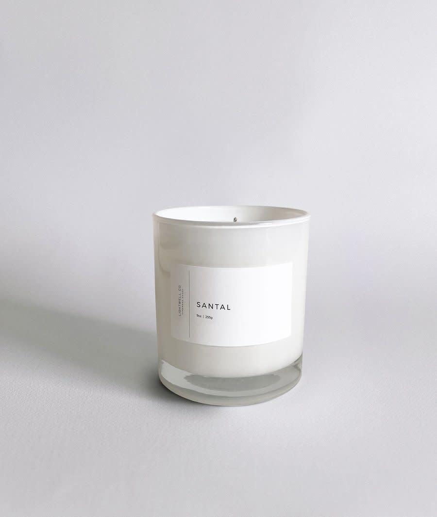 Lightwell Co. Santal White Tumbler