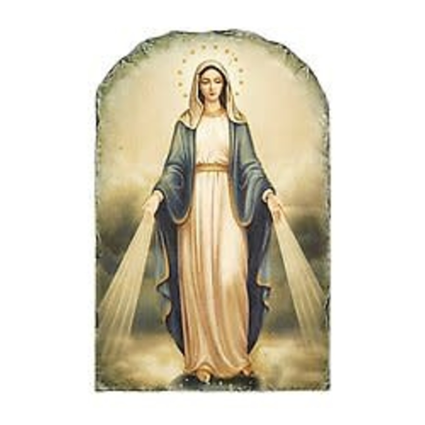 Our Lady of Grace Tile Plaque