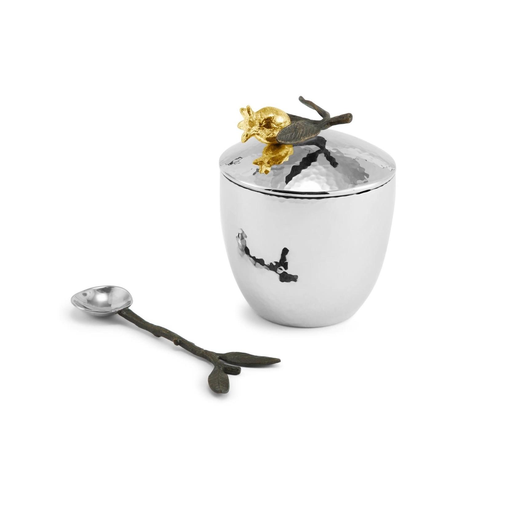 Michael Aram Sugar Pot with spoon