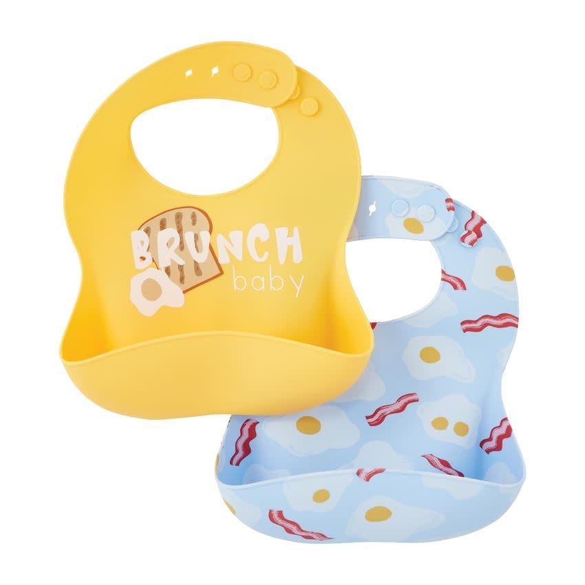 MudPie BRUNCH BABY BIBS
