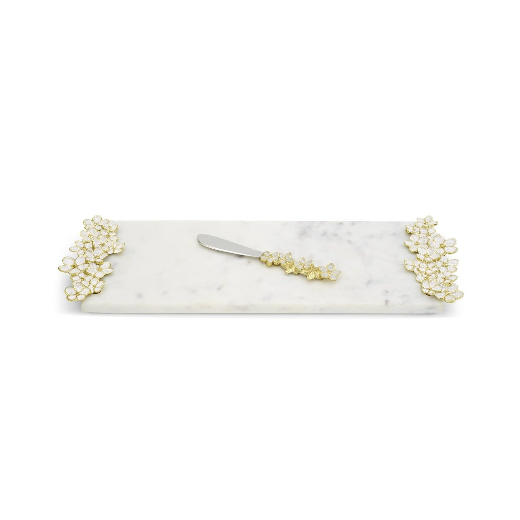 Michael Aram Cherry Blossom Small Cheeseboard/Knife