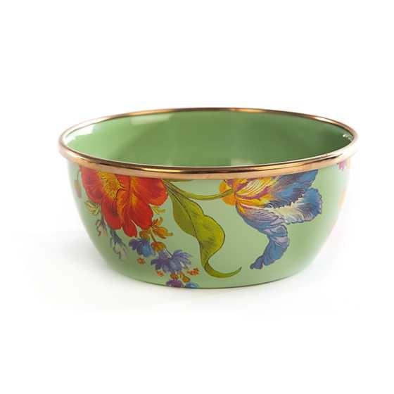 MacKenzie Childs Flower Market Pinch bowl-green