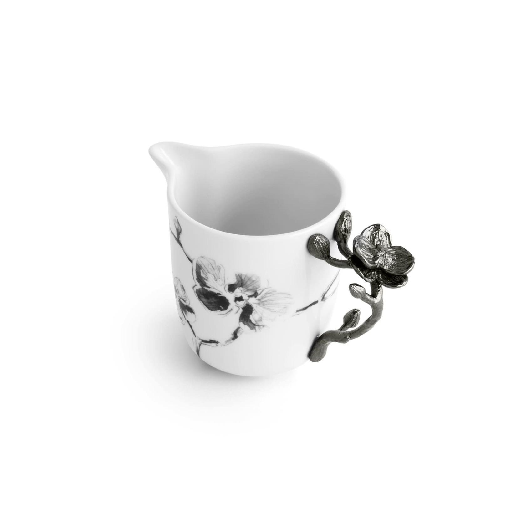 Michael Aram Black Orchid Porcelain Creamer