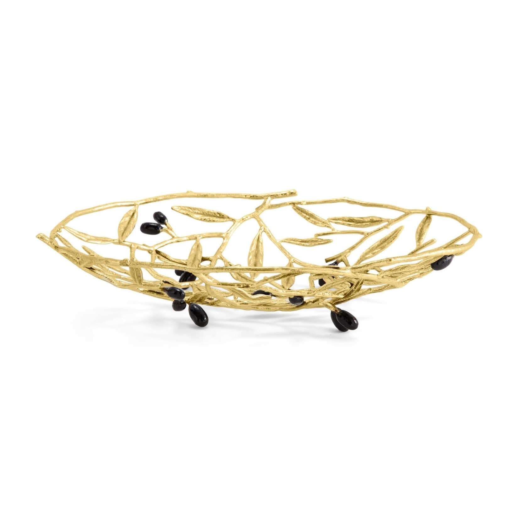 Michael Aram Olive Branch Bread Basket