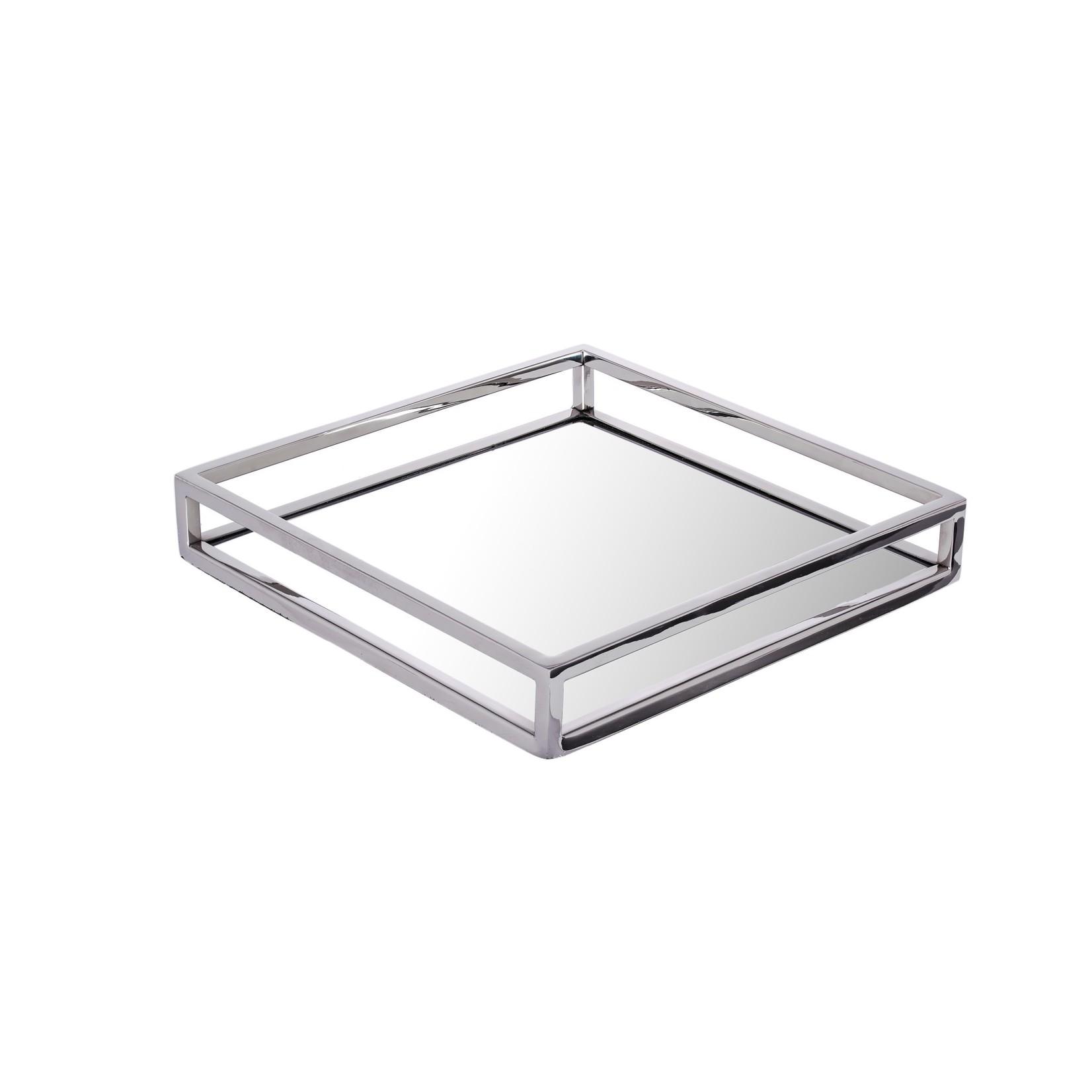 Square Mirrored Napkin Holder